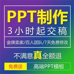 专业ppt制作幻灯片英语设计服务代做动态美化修改动画课件QC定制